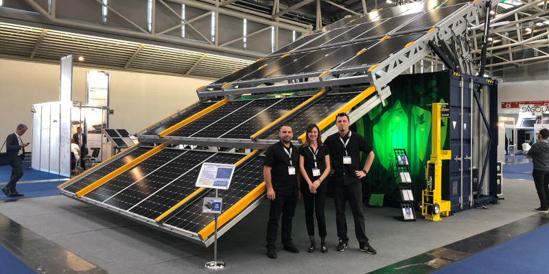 Mobile Solar Power at Intersolar